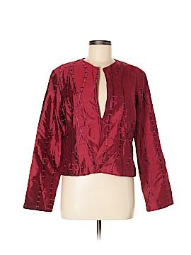 Silk Box Silk Blazer Size 8