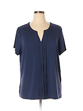 Verve Ami Short Sleeve Top Size 1X (Plus)