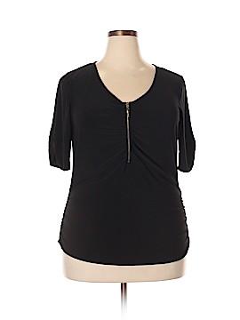 Elementz Short Sleeve Top Size 2X (Plus)
