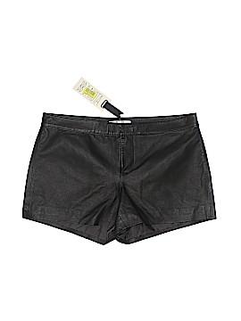 BB Dakota Leather Shorts Size 6