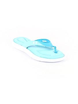 Under Armour Flip Flops Size 8