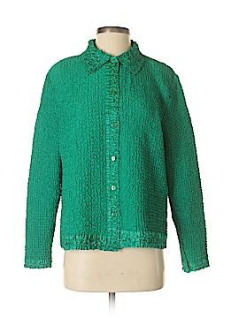 Rafaella Short Sleeve Blouse Size S