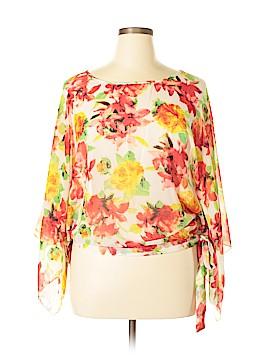Papillon Long Sleeve Blouse Size XL