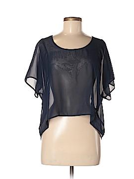 WallpapHER Short Sleeve Blouse Size M