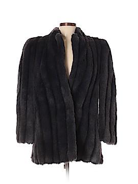 Intrigue Faux Fur Jacket Size 10