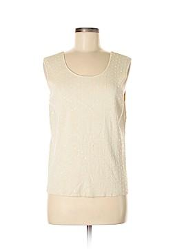 Charter Club Silk Pullover Sweater Size L (Petite)