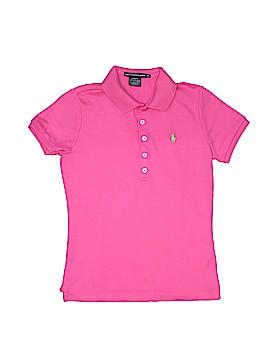 Ralph Lauren Sport Short Sleeve Polo Size M (Youth-Slim)