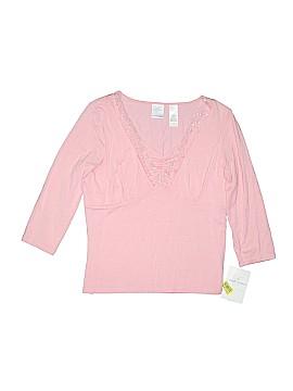 Emma James Short Sleeve Top Size M