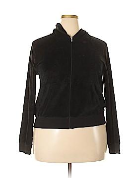 Juicy Couture Zip Up Hoodie Size 1X (Plus)