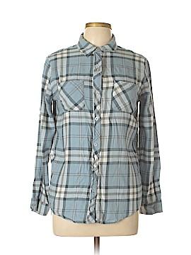 Empyre Long Sleeve Button-Down Shirt Size S