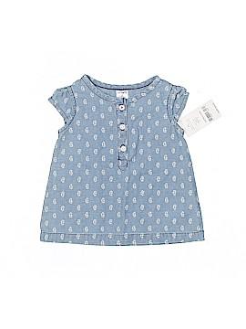 Baby Gap Sleeveless Button-Down Shirt Size 3 mo
