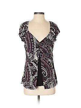Fashion Bug Short Sleeve Blouse Size S