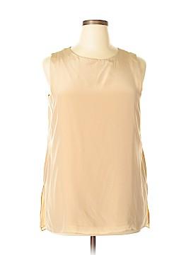 Antonio Melani Sleeveless Silk Top Size L