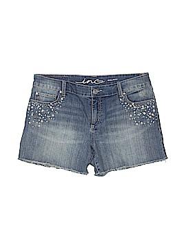 INC International Concepts Denim Shorts Size 12