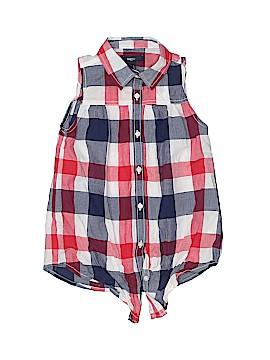 Gap Kids Outlet Sleeveless Button-Down Shirt Size S (Kids)