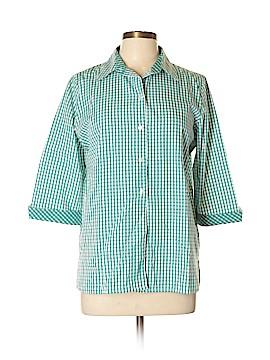 Allison Daley 3/4 Sleeve Button-Down Shirt Size 10