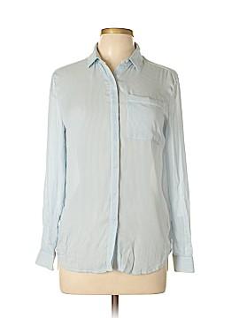 Jack Wills Long Sleeve Silk Top Size 4