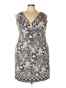 St. John's Bay Casual Dress Size 1X (Plus)