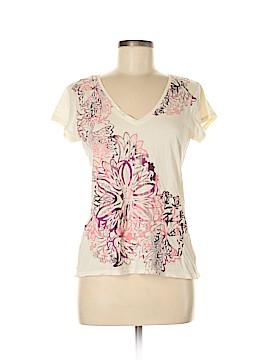 Tahari by ASL Short Sleeve T-Shirt Size L