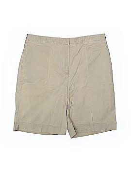Karen Scott Khaki Shorts Size 16
