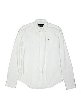 Ralph by Ralph Lauren Long Sleeve Button-Down Shirt Size S (Youth)