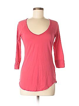 Velvet 3/4 Sleeve T-Shirt Size M