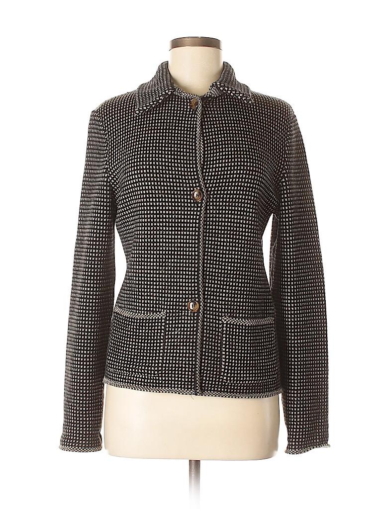Piazza Sempione Women Wool Cardigan Size 44 (IT)