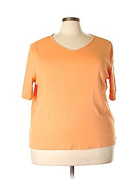 August Max Woman Short Sleeve T-Shirt Size 2X (Plus)