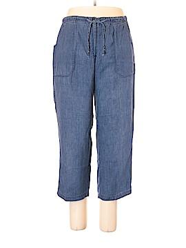 Bill Blass Jeans Linen Pants Size 16