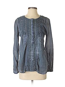 Vintage America Blues Long Sleeve Blouse Size S