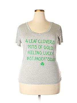 Electric Pink Short Sleeve T-Shirt Size XXL