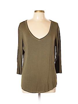A.n.a. A New Approach 3/4 Sleeve T-Shirt Size XL