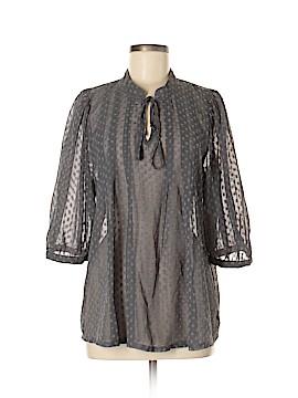 Black Rainn 3/4 Sleeve Blouse Size M