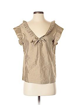 Calypso St. Barth Short Sleeve Blouse Size S