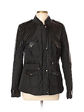 W118 by Walter Baker Faux Leather Jacket Size L