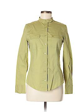 Yuka Long Sleeve Button-Down Shirt Size M