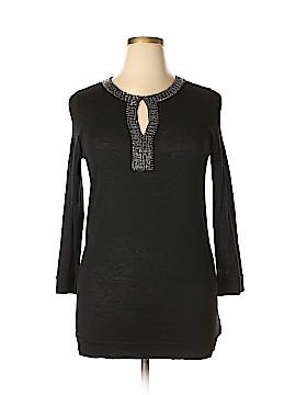 Magaschoni Silk Pullover Sweater Size L
