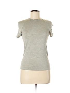 Giorgio Armani Short Sleeve Silk Top Size 8