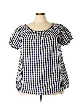 Ellos Short Sleeve Blouse Size 24 (Plus)