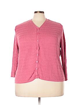 JM Collection Cardigan Size 3X (Plus)