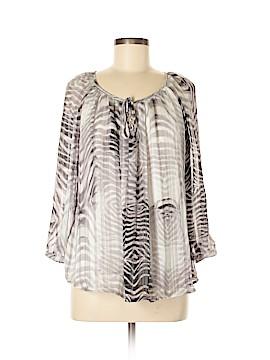 Roz & Ali 3/4 Sleeve Blouse Size M
