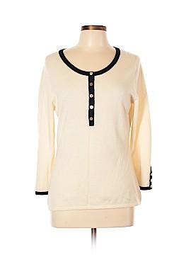 Badgley Mischka Cashmere Pullover Sweater Size L