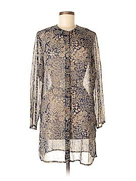 Susan Graver Long Sleeve Blouse Size XS