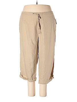 Just My Size Linen Pants Size 4X (Plus)