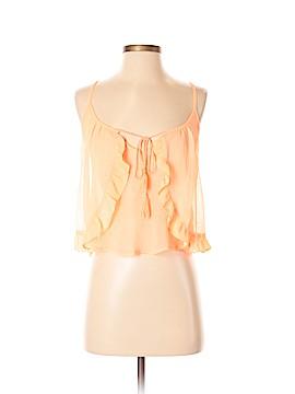 Lush Sleeveless Blouse Size S