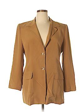 Katherine Kelly Collection Silk Blazer Size 16