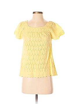 Eight Sixty Short Sleeve Blouse Size S
