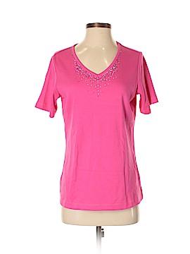 Quacker Factory Short Sleeve T-Shirt Size XS