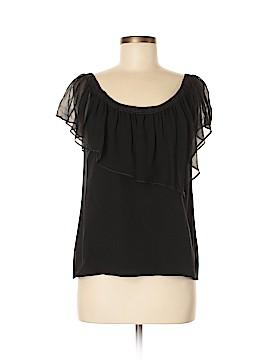 Vena Cava Short Sleeve Silk Top Size M