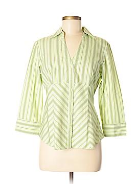 G.H. Bass & Co. 3/4 Sleeve Button-Down Shirt Size M